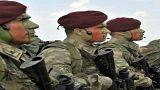 مجموعة من جنود القوات الخاصة بالجيش التركي (الأناضول)