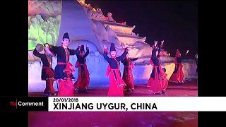 Festival de neve e gelo no norte da China