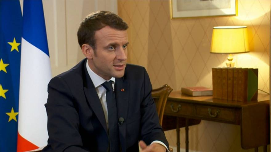 It was a 'mistake' to hold yes-no vote on Brexit, says Macron