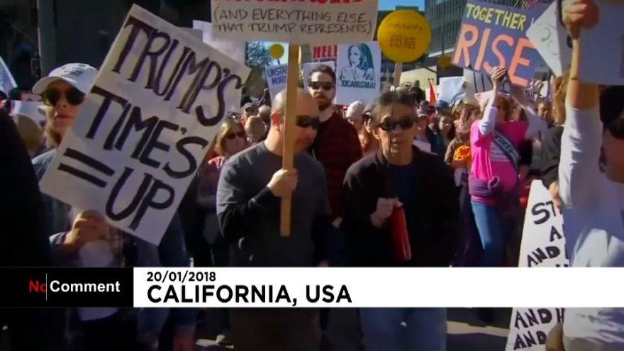 """""""Марш женщин"""" в США"""
