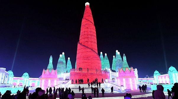 جشنواره برف و یخ در چین