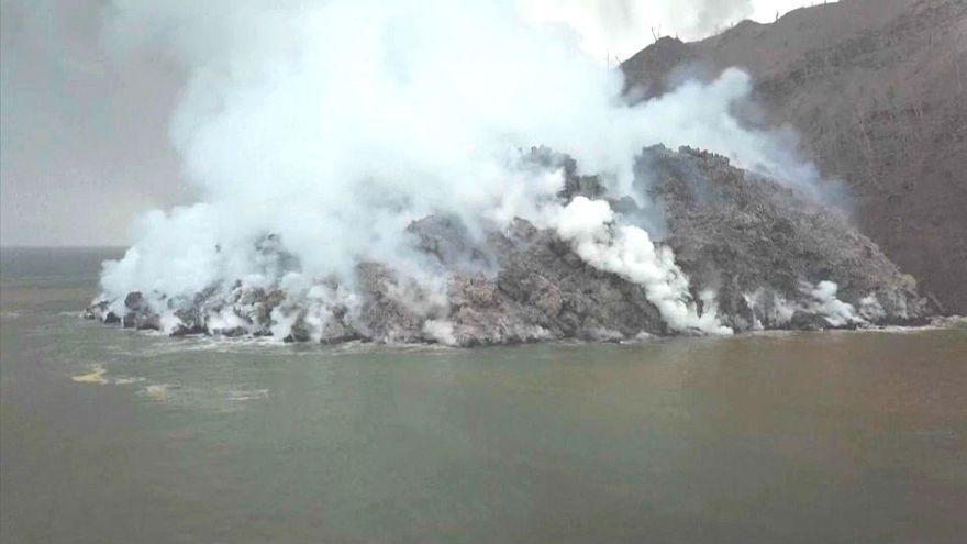 Papua-Neuguinea: Vulkan auf Insel Kadovar bricht aus