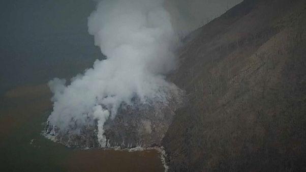 Вулкан проснулся в Папуа-Новой Гвинее