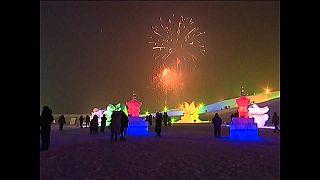 Фестиваль снега в Фуканге