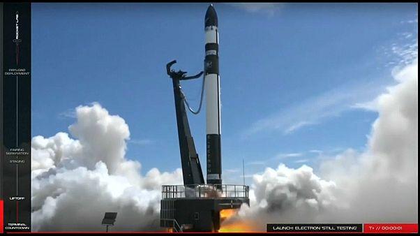 Yeni Zelanda'dan uzaya roket fırlatıldı