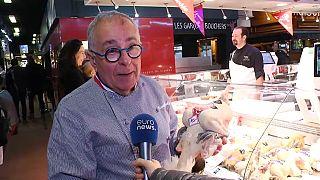 Homenajes espontáneos a Paul Bocuse en su mercado de Lyon