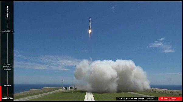 Успешный старт частной космической ракеты