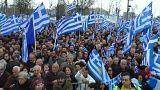 Греки протестуют против Македонии