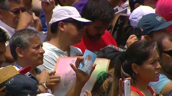 El papa pone fin a su viaje por Latinoamérica