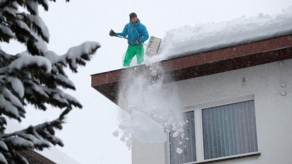 Schneechaos in den Alpen: ein Toter nach Lawine