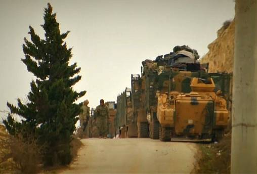 Turkish troops enter Afrin region in northern Syria