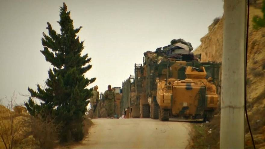 Turkish ground troops move into Syria