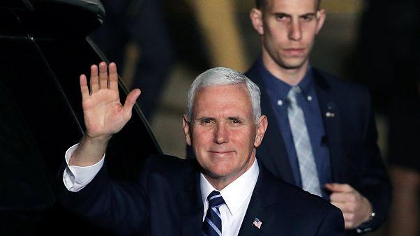 Mike Pence arrive en terre promise