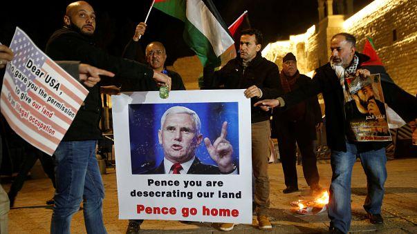 Il vicepresidente americano Pence è arrivato in Israele