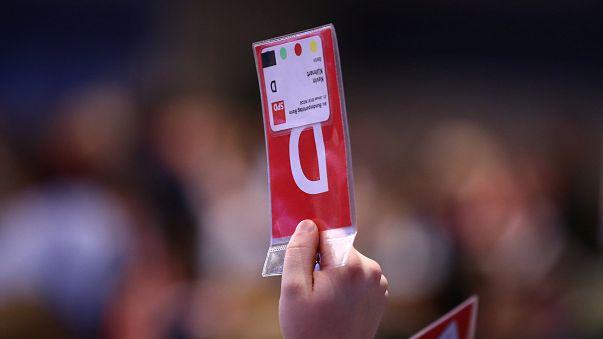 Abstimmung bei der SPD