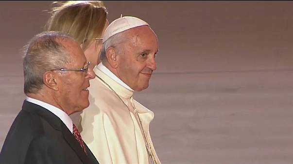 Pope flies home after controversial Latin America trip