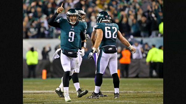 Los Philadelphia Eagles y los Patriots de Nueva Inglaterra disputarán la Super Bowl