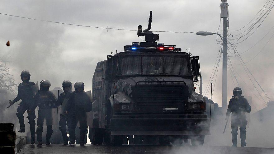 Protestas violentas en Honduras en una semana crucial
