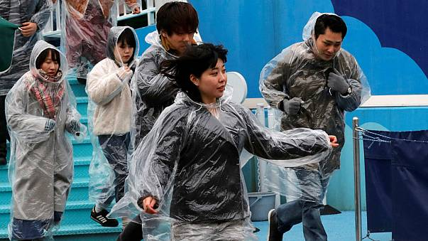 Tokyo holds 'first-ever' missile attack drill