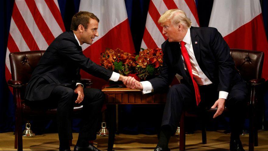 واکنش ماکرون به کشورهای «سوراخ مستراح» ترامپ: به کشورها احترام بگذاریم