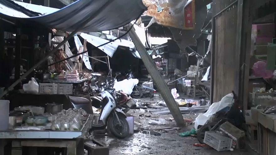 Thailandia: bomba al mercato, almeno tre morti