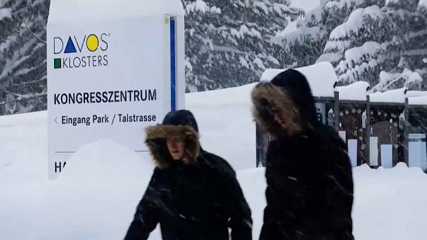 Todo listo para el comienzo del Foro de Davos