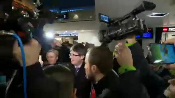 Nem adnak ki elfogatóparancsot Puigdemont ellen