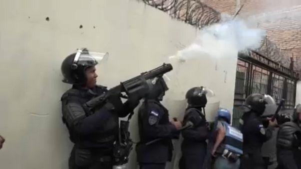 Véres összecsapások Hondurasban