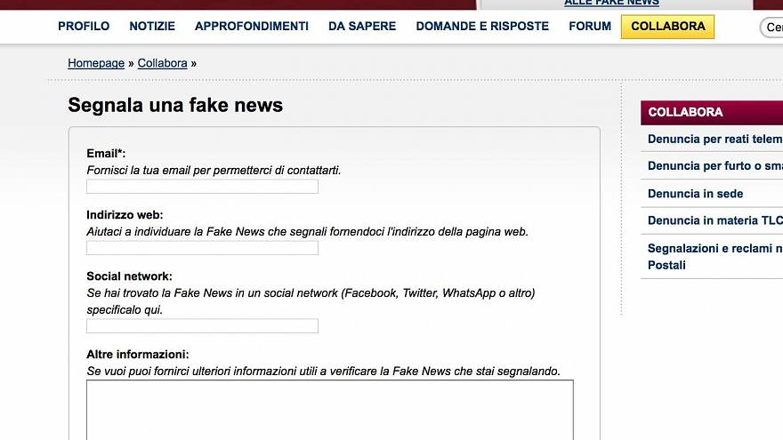 Perfino la polizia anti-fake news pubblica una fake news