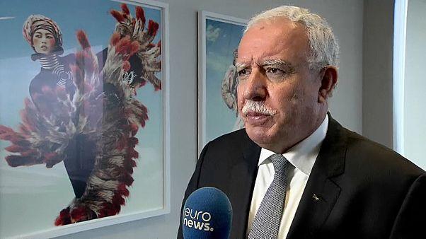 وزير خارجية فلسطين رياض المالكي