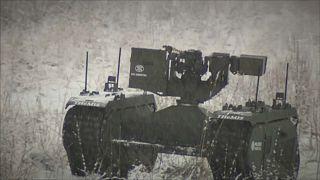 Estonian War robots are put through their paces