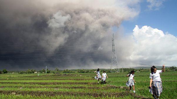 Erupção do vulcão Mayon pode estar iminente