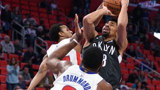 Broklyn Nets son saniyede kazandı: 101-100