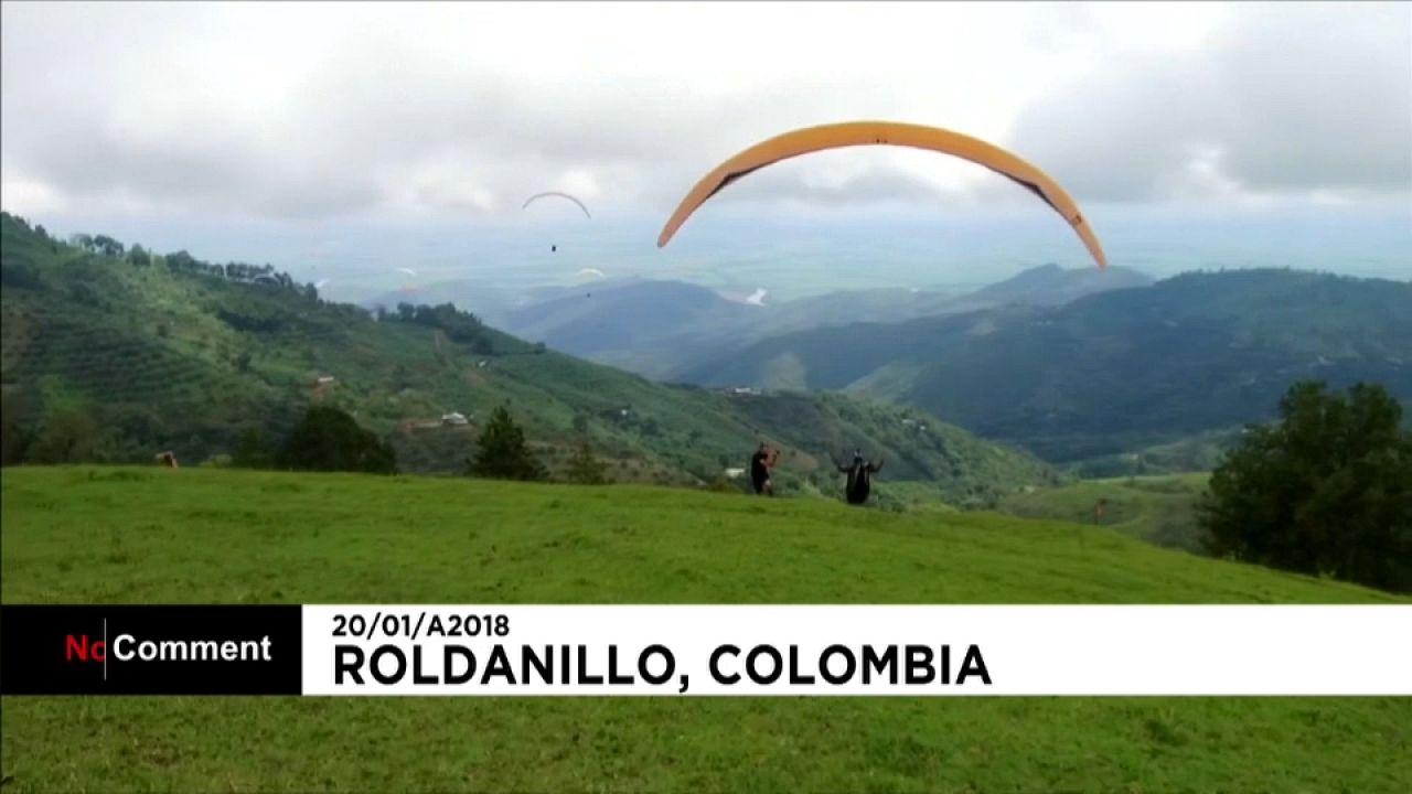 Suiço vence Campeonato do Mundo de Parapente