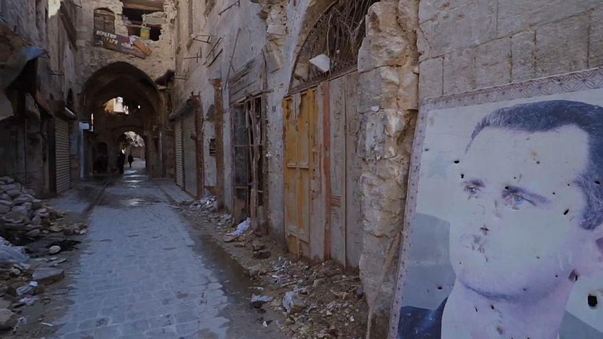 На рынок в Алеппо возвращаются продавцы