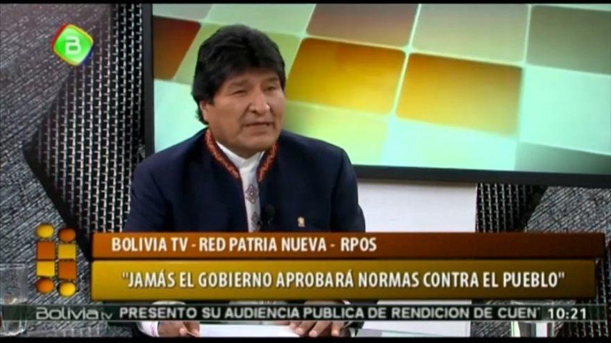 Evo Morales decide anular la ley penal