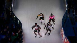 Dünyanın en hızlı buz patencileri sezonu açtı