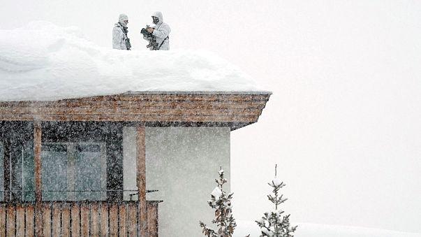Los Alpes en alerta máxima por riesgo de avalanchas