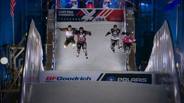 Red Bull Crashed Ice: успешный старт Даллаго и Трунцо