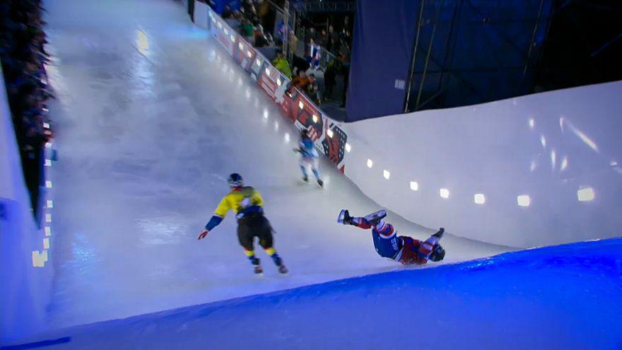 Red Bull Crashed Ice: Dallago vince la prima tappa 2018