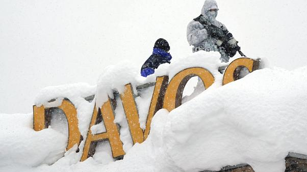 Massime sicurezza a Davos, Svizzera