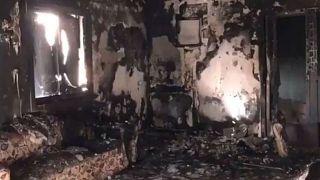 حريق في مسكن بالفجيرة في الإمارات العربية المتحدة