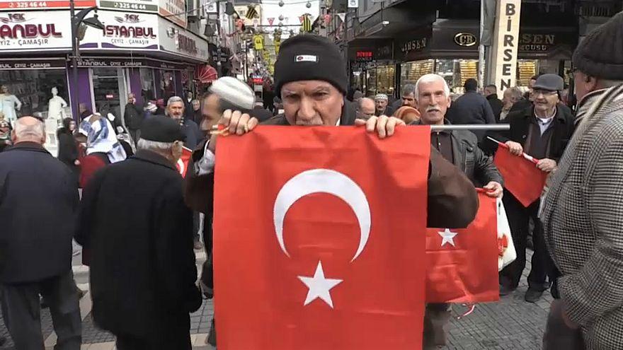 Zeytin Dalı Harekatı'na destek yağıyor