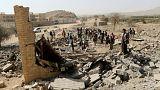 an air strike that destroyed a house