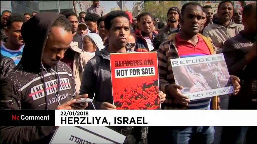 Нелегалы из Африки не хотят уезжать из Израиля