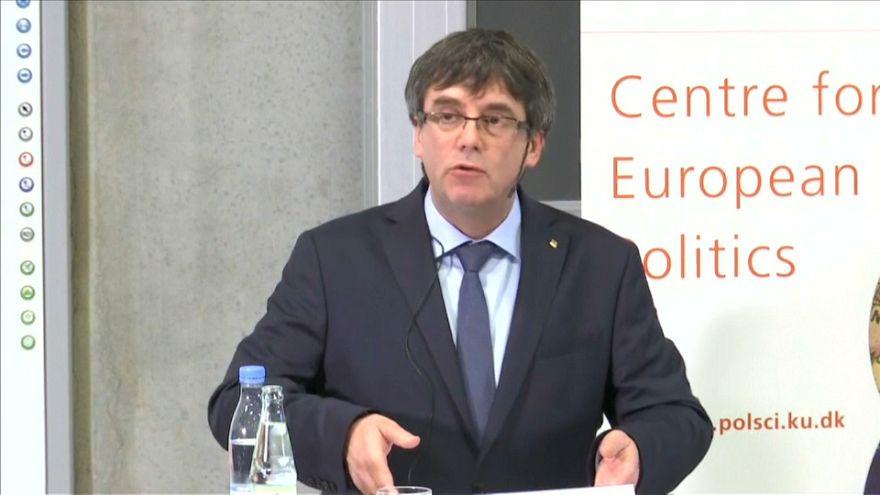 """Puigdemont: """"Ideale der Demokratie stehen auf dem Spiel"""""""