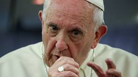 Pope Francis apologises to sexual abuse victims