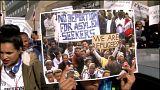 Protestas en Israel contra las políticas migratorias