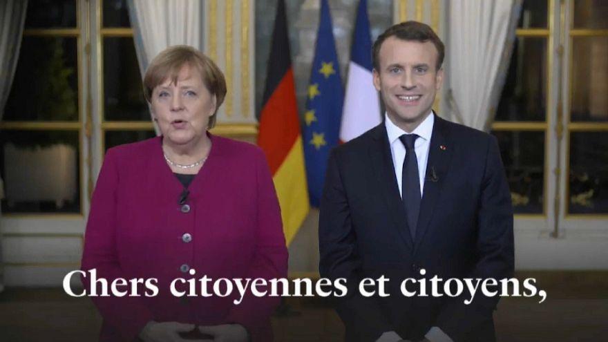Asse franco-tedesco: sì al nuovo trattato dell'Eliseo