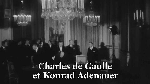 França e Alemanha assinalam os 55 anos do Tratado do Eliseu